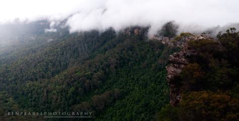Into the Light- Narrowneck Plateau- Katoomba, NSW, Australiau