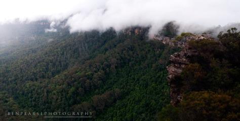 Into the Light- Narrowneck Plateau- Katoomba, NSW, Australiau