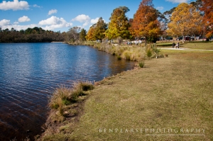 Wenty Lake in Autumn