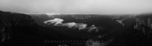 Grose valley panoramic