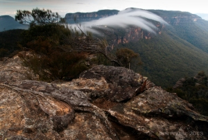 reaching into the megalong