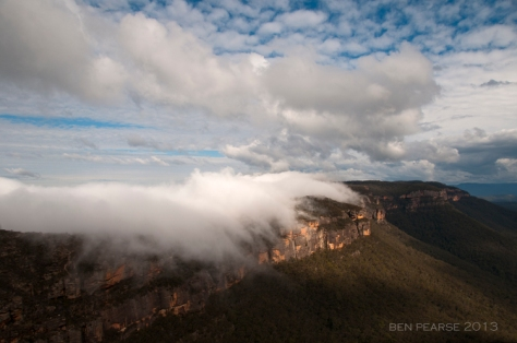 Phanton Falls- Narrowneck plateau, Blue Mountains