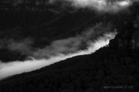 Dramatic jamison valley