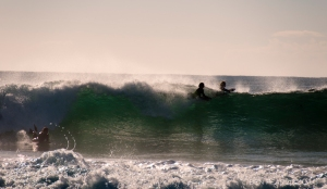 riding the swell