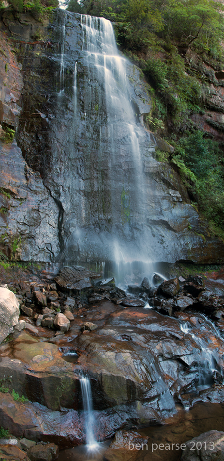 Leura falls panoramic
