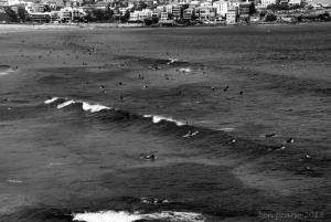 iconic Bondi beach