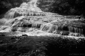 cascades in flood