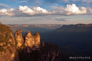 Three sisters with cloud