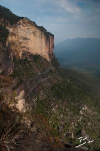 Landslide view