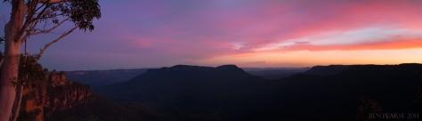 jamison sunset panoramic
