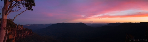 jamison sunset panoramic
