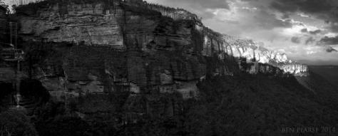 katoomba cliffline panoramic