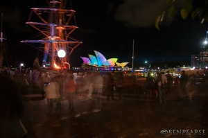 vivid crowds