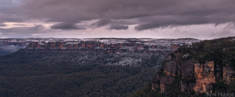 Blue Mountains winter wonderland