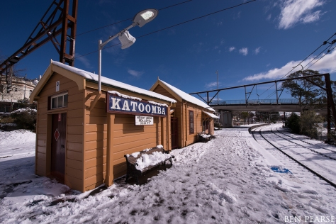 Katoomba gets some snow
