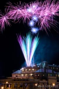 Carrington hotel fireworks