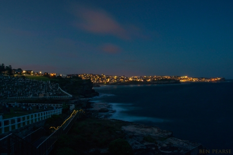 Bondi twilight runner