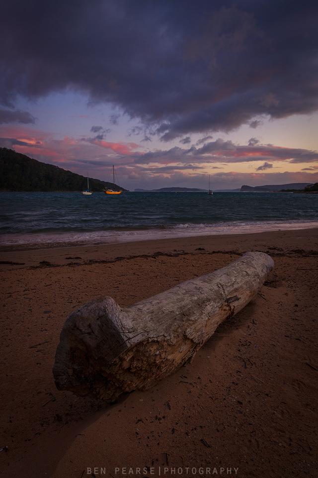 Ettalong beach sunset