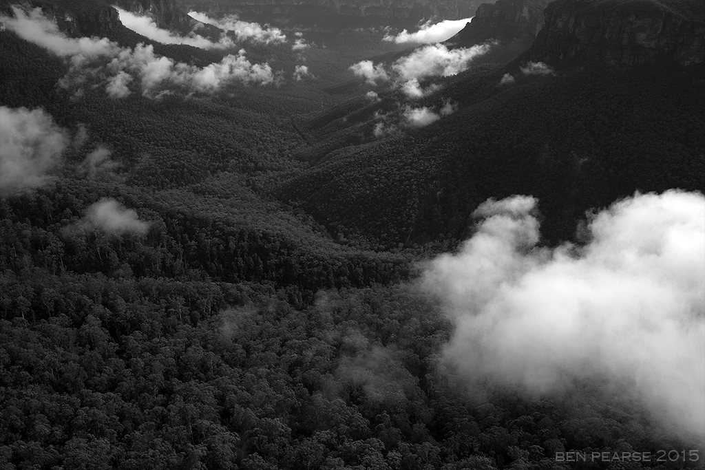 Grose valley clouds
