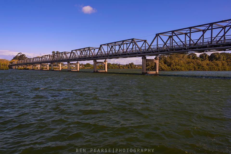 Murray river bridge Taree