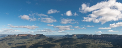 Katoomba panoramic view