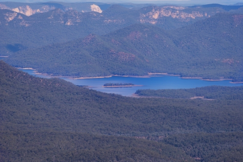 Zooming in on Lake Burragorang