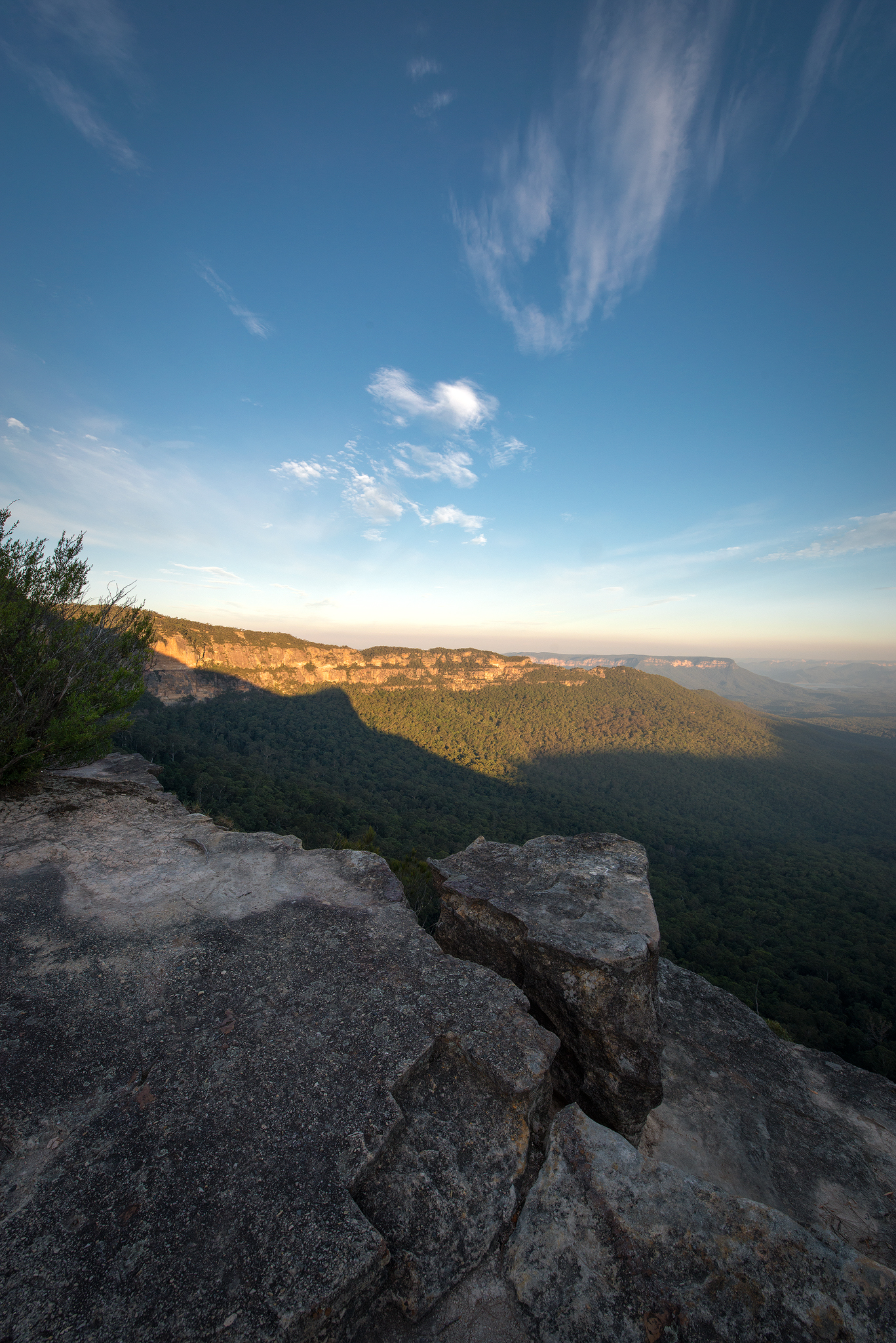 Melville's lookout- Mount Solitary
