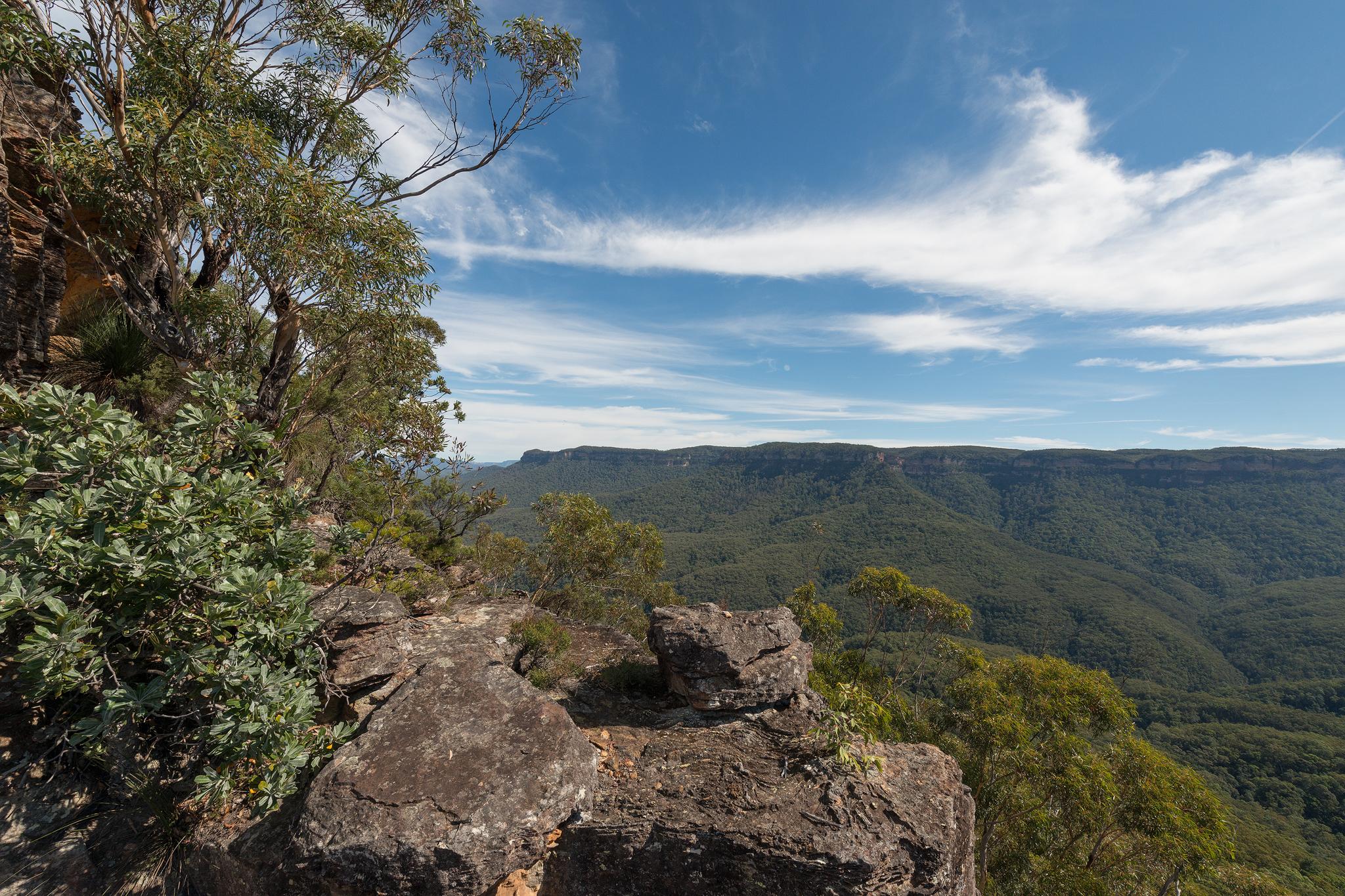 Narrowneck plateau views