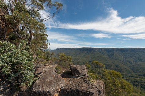 Narrowneck plateau views